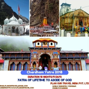Book 20% Discounted Chardham Yatra 2018 Tour Package Booking-India
