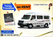 Best Tempo Traveller Service In Chandigarh to Himachal 9417018737