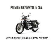 Bike hire in goa - Goa Bikes Inc.