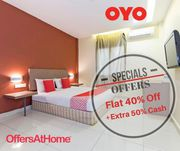OffersAtHome - Oyo Coupons,  Deals,  Promo Codes,  Offers & Discount Code