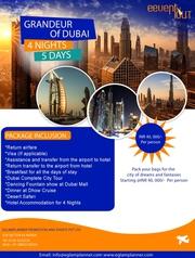 Grandeur of Dubai Tour Package 4 Nights 5 Days