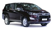 Automatic InnovaCrysta car for rent in Trivandrum, Kerala