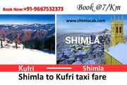 Car Rental in Shimla - Hire Taxi in Shimla at affordable rates from sh