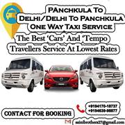 Delhi To Chandigarh One Way Cab Service On Best Price.
