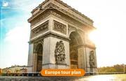 Europe tour plan   Shoes On Loose