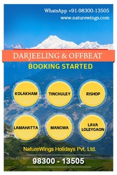 GOLDEN OFFER - NORTH BENGAL TOUR PACKAGE STARTS FROM RS. 5990/- PH