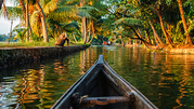 Backwaters,  Beaches & Hills of Kerala with mains