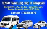 Northeast Voyagers- Tempo Traveller rental service in Guwahati